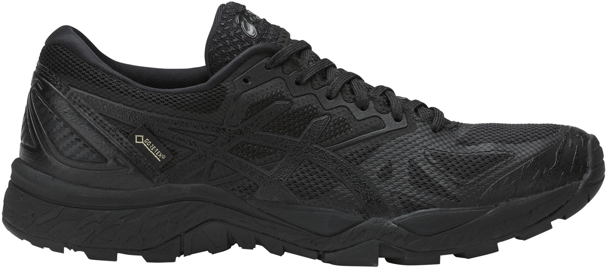 7c6f7cf5b asics Gel-Fujitrabuco 6 G-TX - Zapatillas running Mujer - negro ...